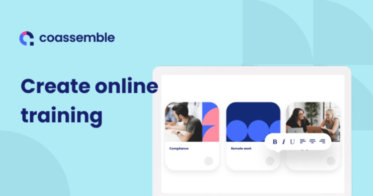 Coassemble outil formation en ligne
