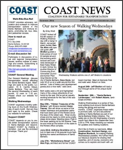 COAST Summer 2016 Newsletter