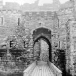 Beaumaris Castle (Main Entrance) in 1935