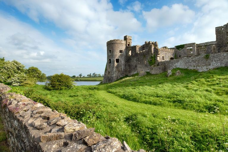 Carew Castle on the Pembrokeshire Coast