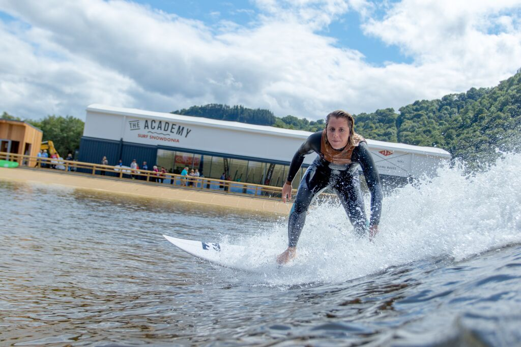 Surf Snowdonia (Photo © Pete Chamberlain)