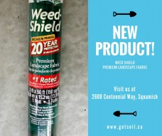 Landscape Depot - New Product Weed Shield Landscape Fabric