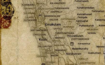 Map of Cochin