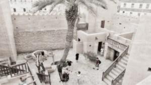 Taqah Castle interior courtyard