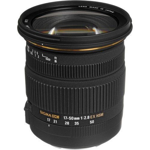 Sigma 17-50/2.8 EX DC OS HSM for Canon