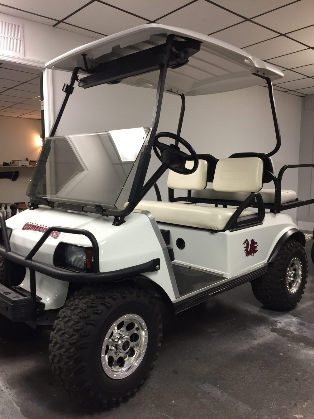 Lifted Club Car DS
