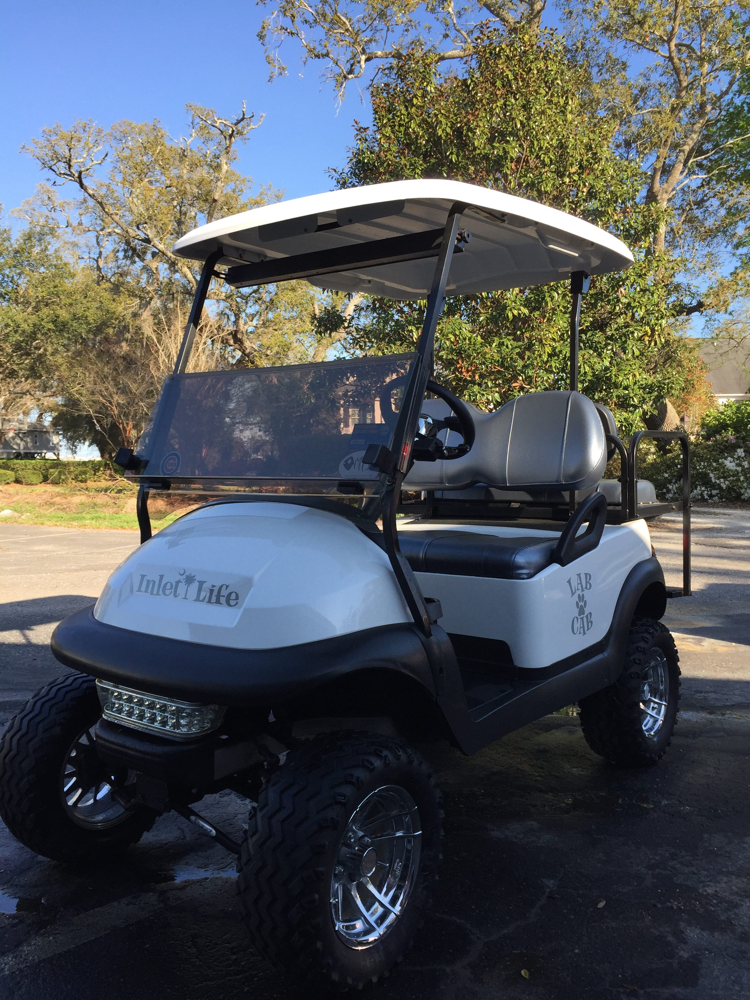 Coastal Carts Unlimited- Inlet Life Golf Cart