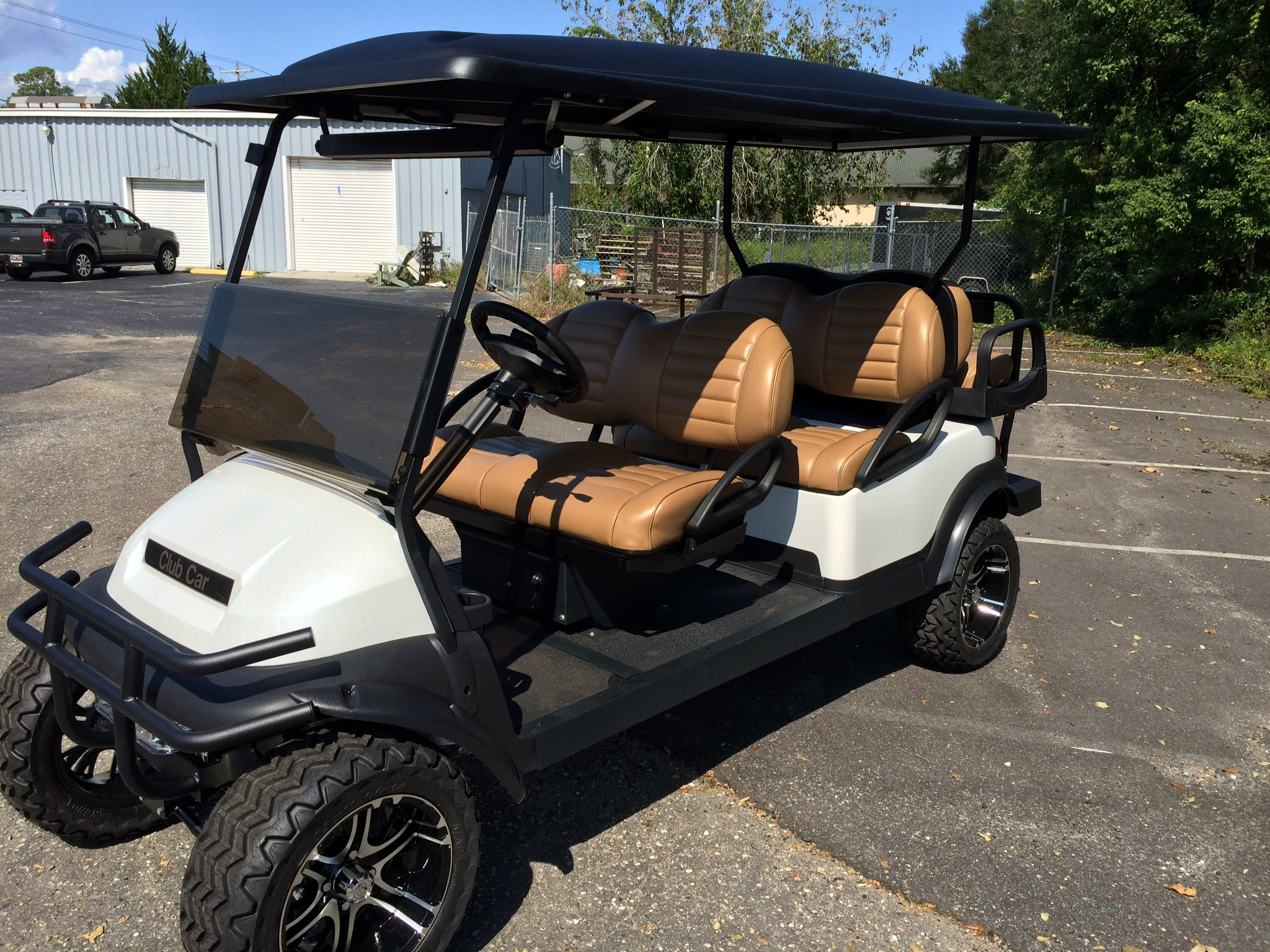 6 Seater Custom Golf Cart