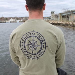 Adult Long Sleeve T-Shirt Niantic Compass