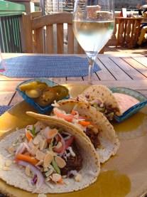 Fish Tacos, Schooners/Monterey