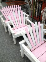 coastal:pink chairs