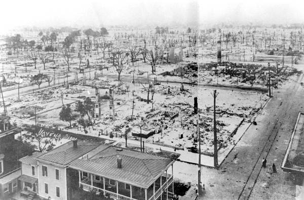 The Great Fire of 1901