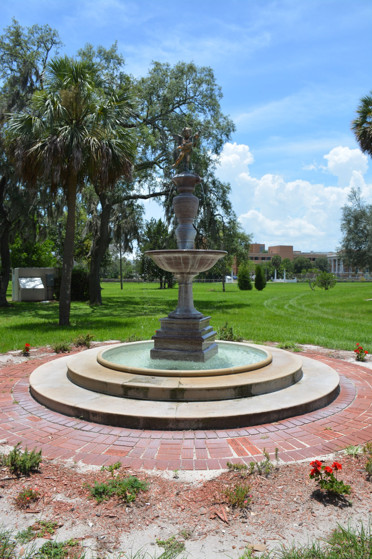Fountain in Klutho Park