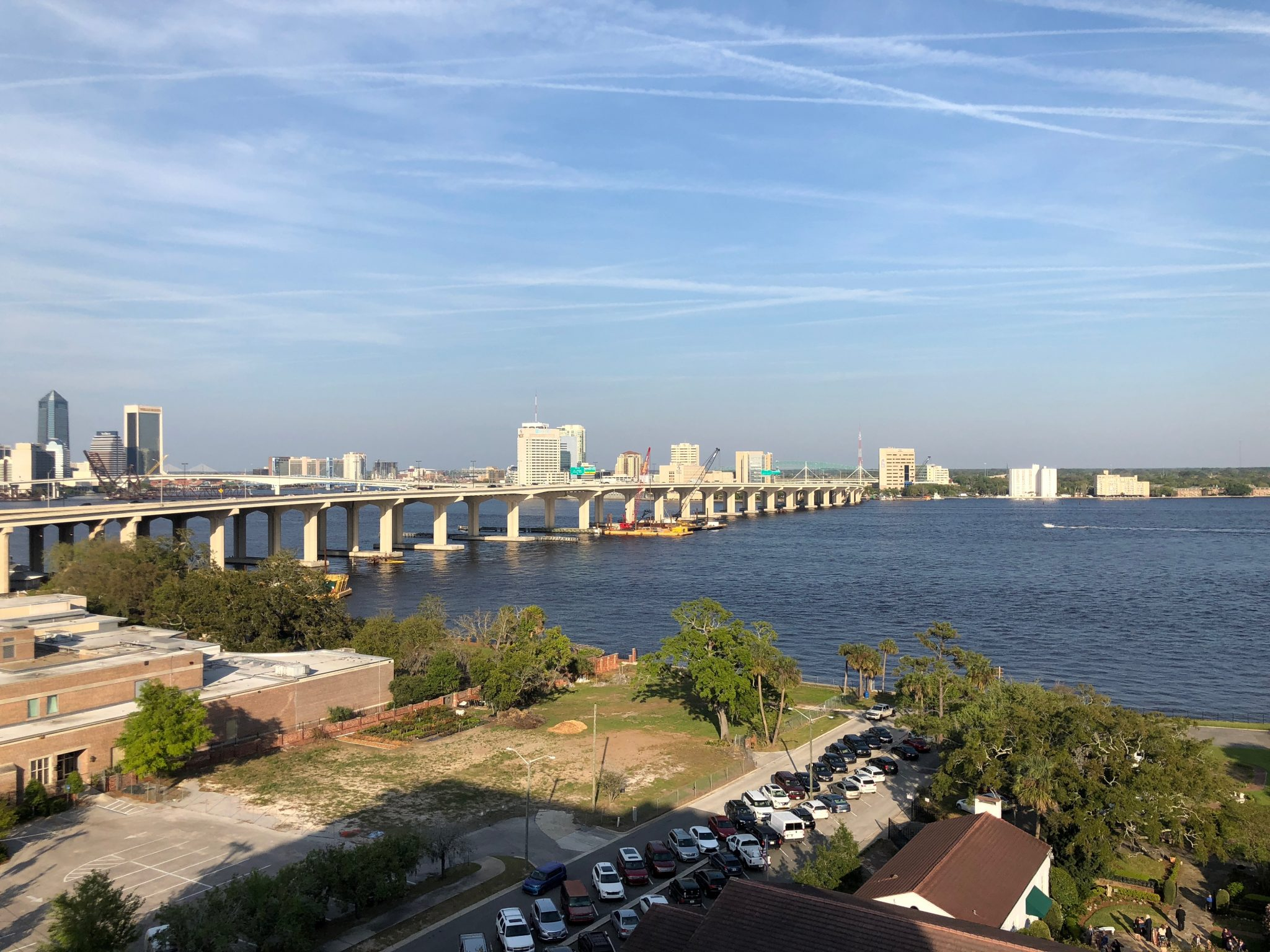 Rooftop view at River & Post, Jacksonville, FL