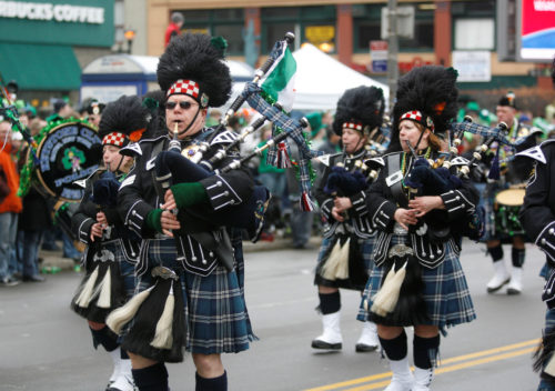LOCAL st. patrick's day parade