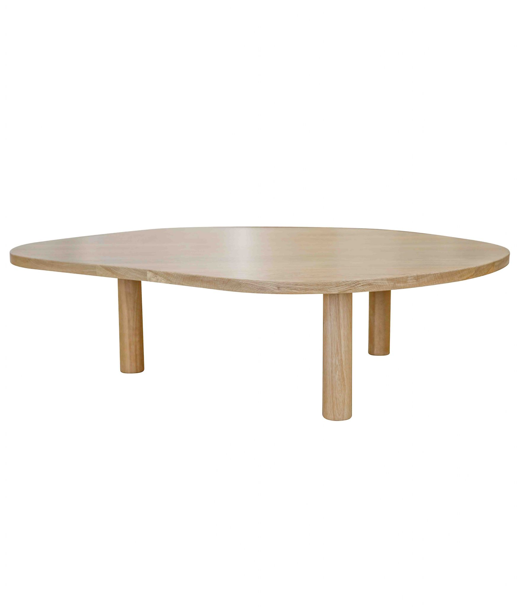 pebble coffee table natural