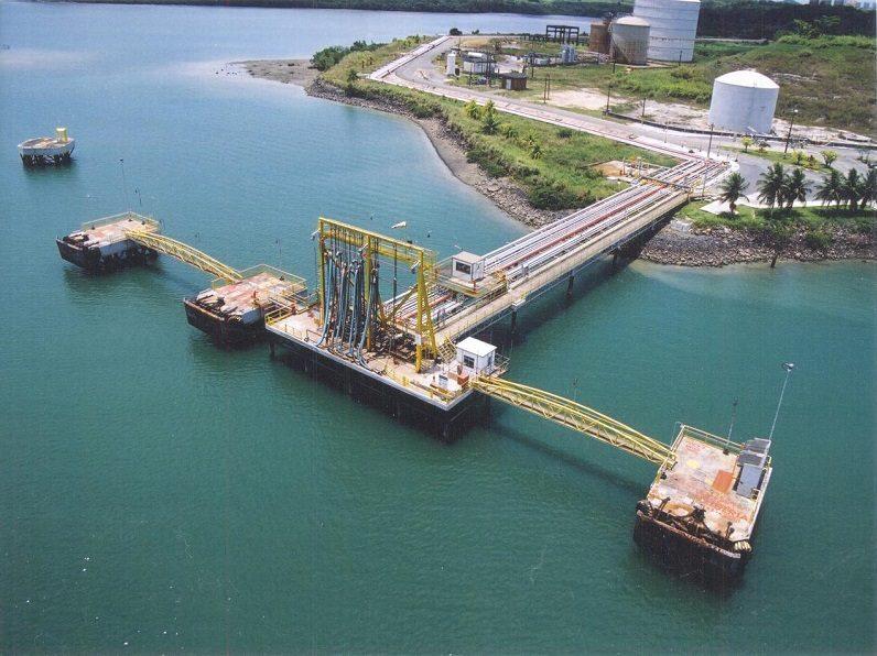 Foto do Terminal Dow Química