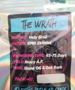 The Wrath regular seeds from Gorilla Gas for Coastal Mary Seeds