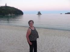 Sunset at Abel Tasman Park