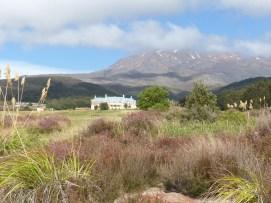 First sight of Chateau Tongariro