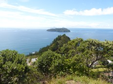 Looking out to the Pacific Ocean from Mt. Paku