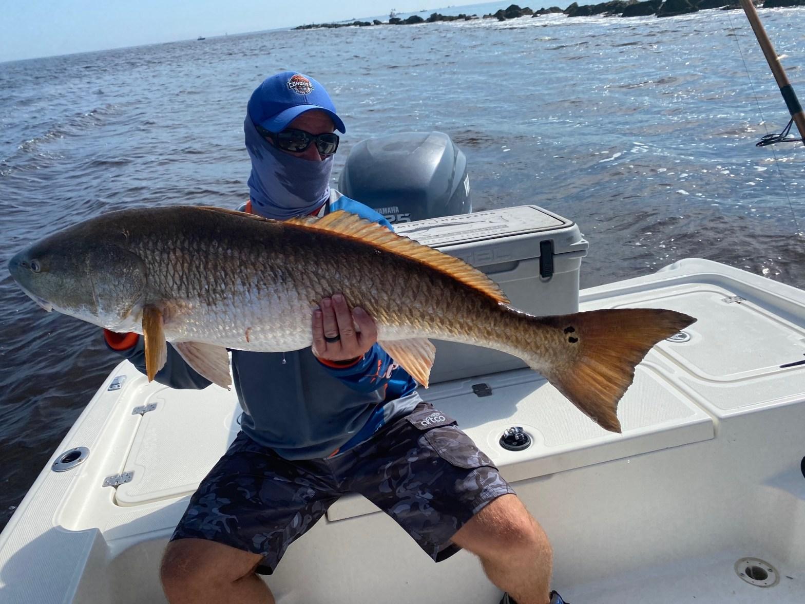 41 inch Redfish Reel Big Fish