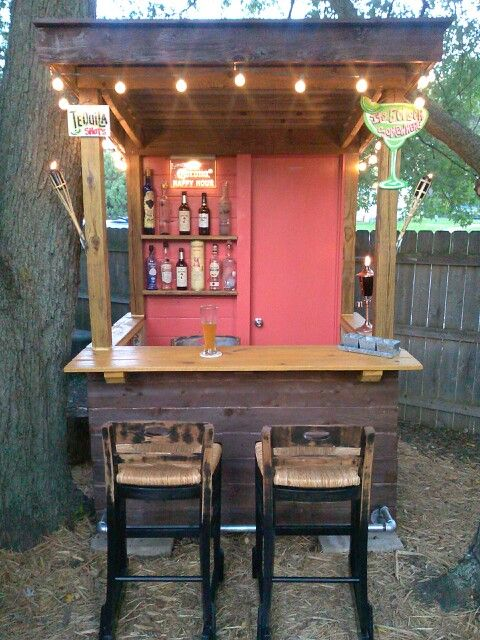 backyard shed man cave on Man Cave Patio Ideas  id=71699