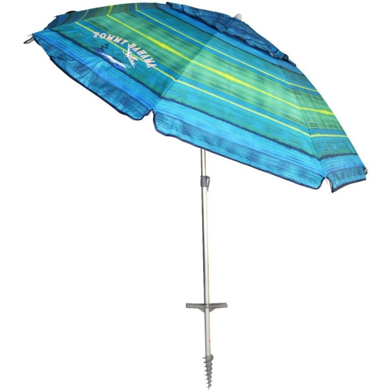 Beach Umbrella with 4 Chairs Image