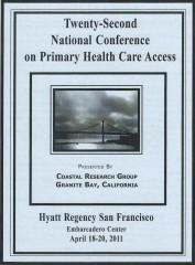 The 22nd National Conference Program Cover