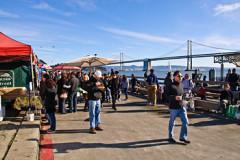 Ferry Plaza, adjacent to the Hyatt Regency San Francisco