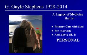 In Memoriam, George Gayle Stephens, MD