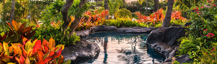 A river pool at the Grand Hyatt Kaua'i