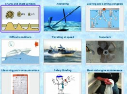 RYA Advanced Powerboat Certificate chart symbols coastal safety marine skills knowledge online course