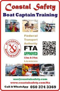 FTA 12m 24m Boat Captain Licence