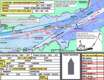 passage planning boat ship yacht chart gps chartplotter 15