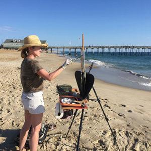 Jennifer Young, plein air artist