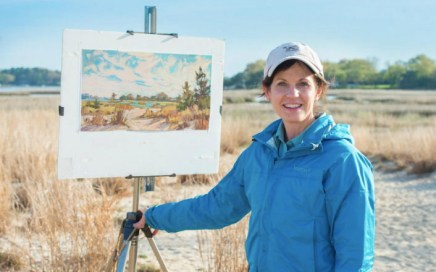 Maria Reardon, 2019 Best of Show at Coastal VA Plein Air Festival