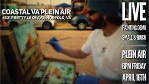 Doug Clarke Plein Air Painting Demo
