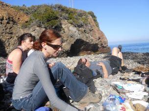 Hiking Santa Cruz Island