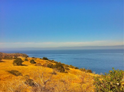 Hiking Santa Cruz Island