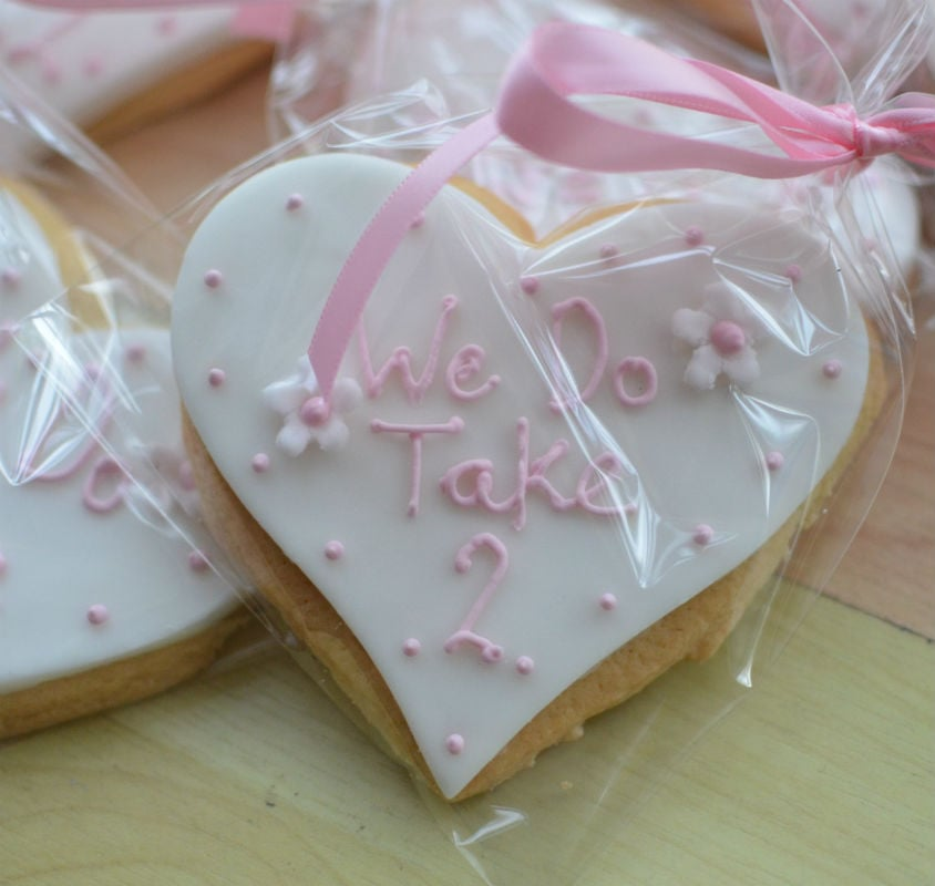Wedding Favour Cookies In Any Style Dorset And Hampshire
