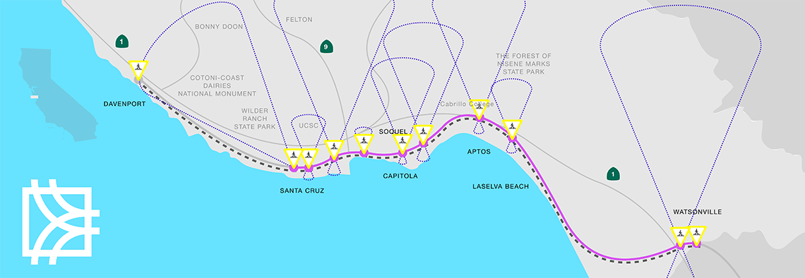 Rail and Trail Map