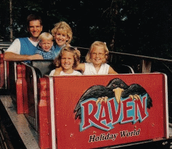Koch-Family-Riding-The-Raven-at-Holiday-World