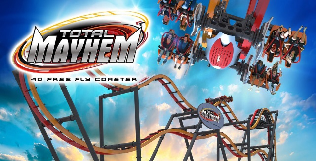 Total Mayhem Roller Coaster - Six Flags Great Adventure Preview