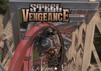 Steel Vengeance Roller Coaster - Cedar Point