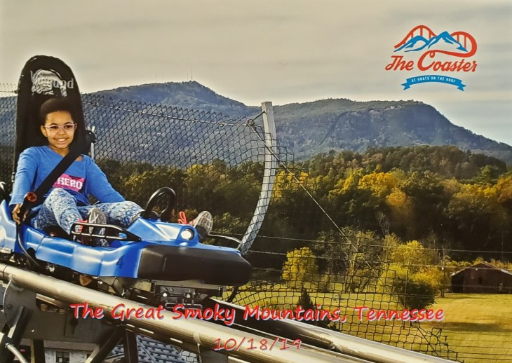 The Coaster at Goats on the Roof - Pigeon Forge Mountain Coaster