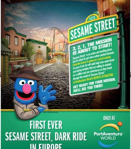 Sally Corporation Announces Sesame Street Dark Ride for Port Aventura