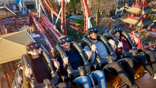 Image result for tivolis vr roller coaster