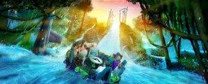 SeaWorld Orlando Reveals Infinity Falls, Rapids