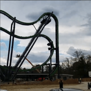 The Joker at Six Flags Great Adventure Testing